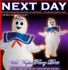 HALLOWEEN FANCY DRESS ~ ADULT GHOSTBUSTERS INFLATABLE STAY PUFT MARSHMALLOW MAN